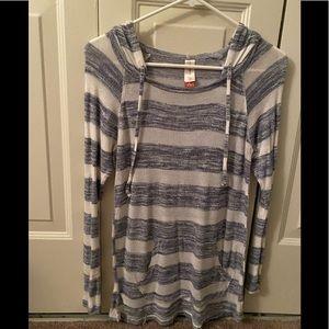 Striped light long sleeve shirt